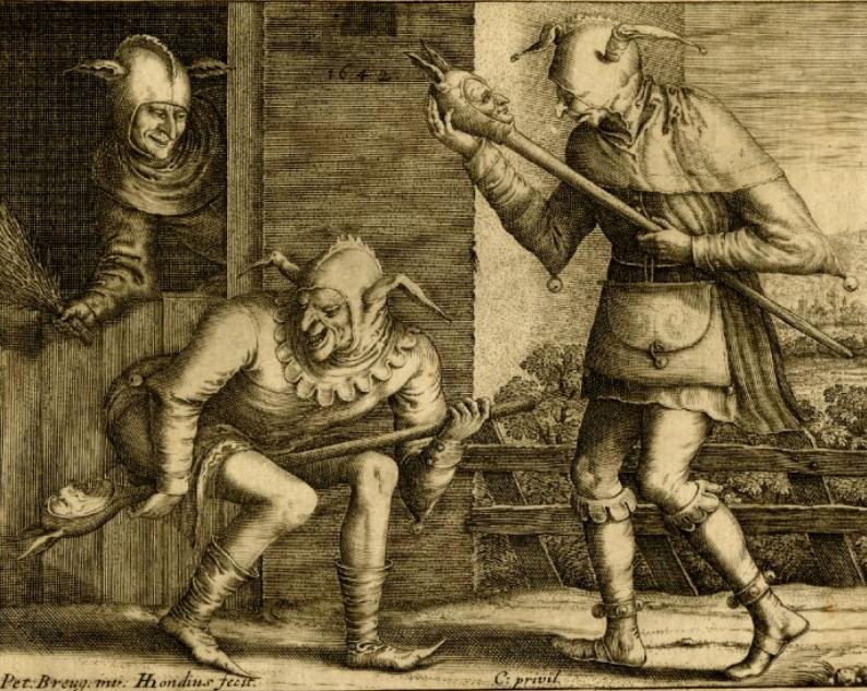 Hendrik Hondius, d'après Bruegel l'Ancien