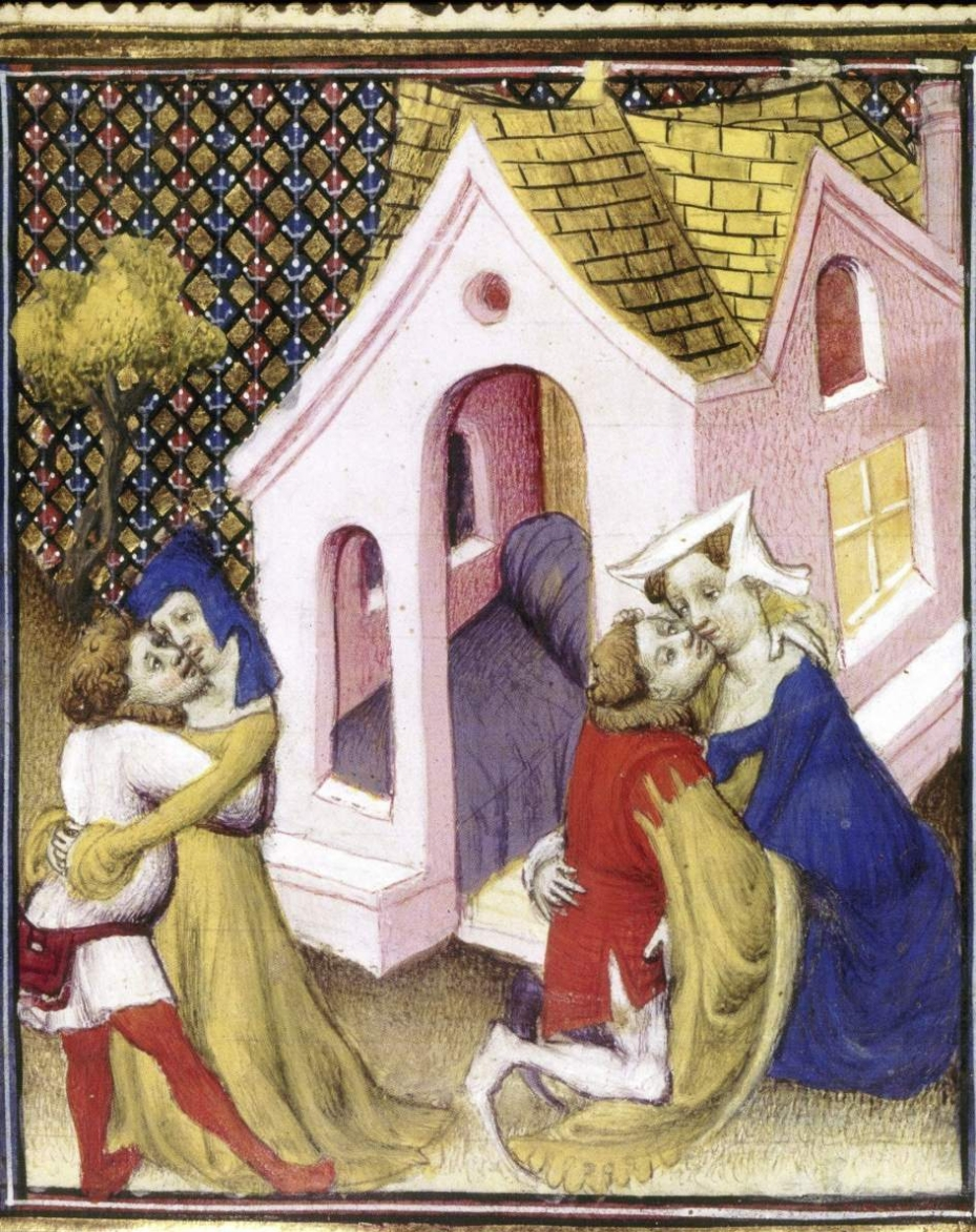 Boccace, Décaméron, BnF.